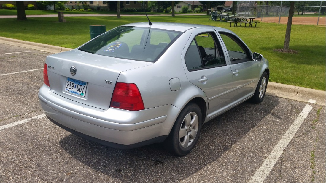 Sell Used 2003 Vw Jetta Tdi Automatic 1 Owner In